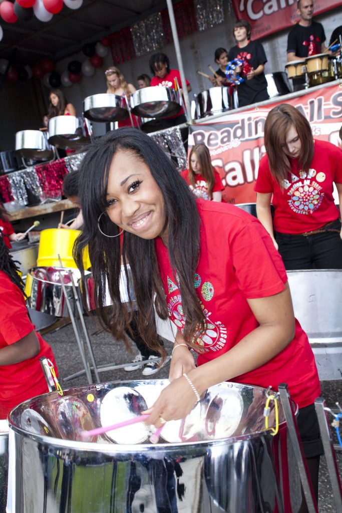 CultureMix present RASPO Steel Orchestra at the London Notting Hill Carnival steel band championship known as Panorama