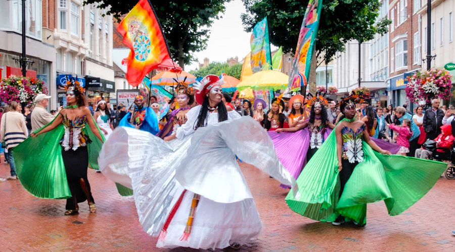 Carnival of the World Broad Street Parade 2016 image by WEBCC