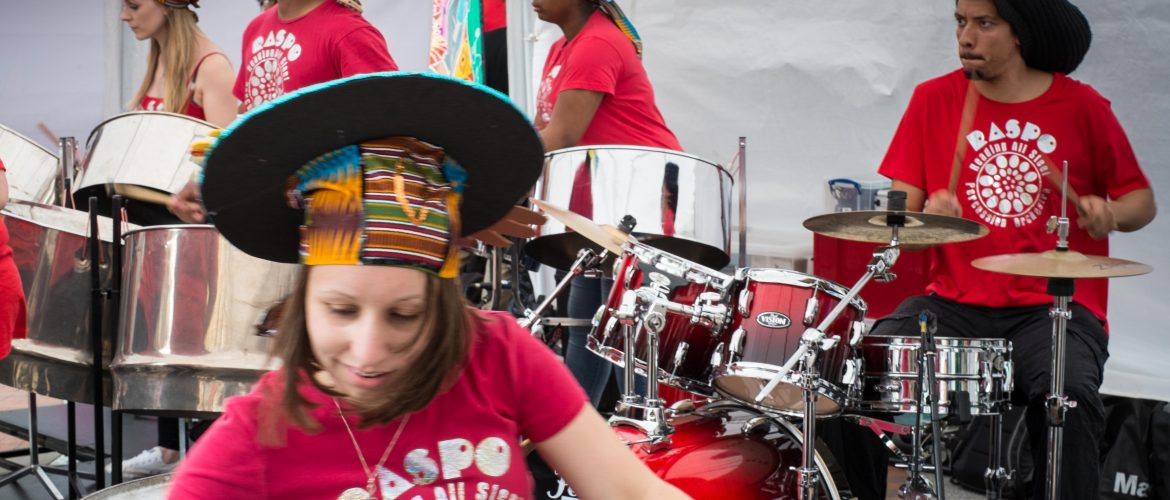 Reading All Steel Percussion Orchestra at Carnival of the World Reading 2016 image by WEBCC