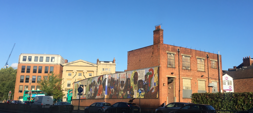 Central Club Black History Mural Reading