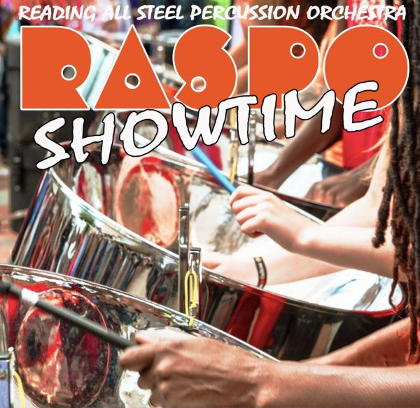 RASPO Steel Orchestra presents Showtime CD of calypso, reggae and pop. Purchase at culturemixarts.co.uk