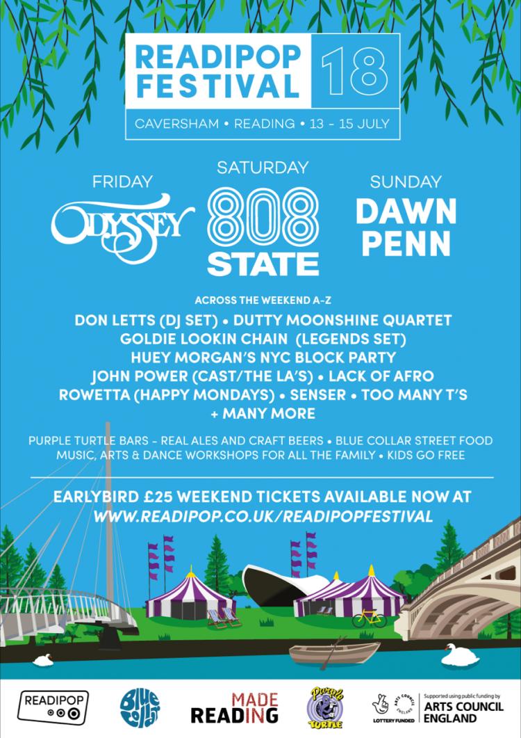 Readipop Festival poster 2018