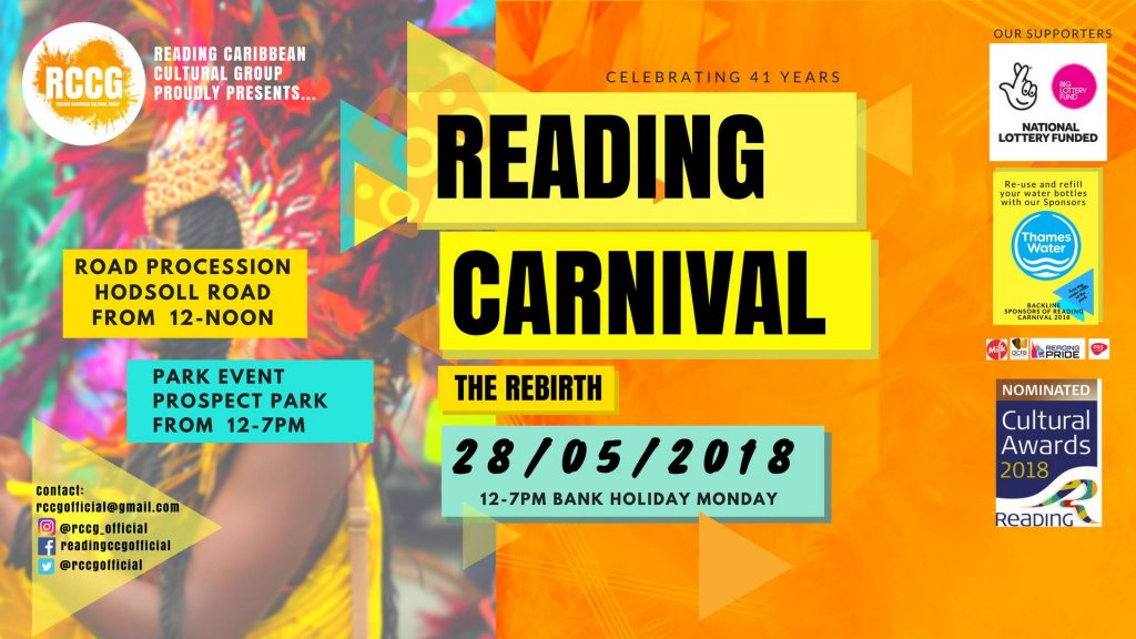 Reading Carnival The Rebirth 2018