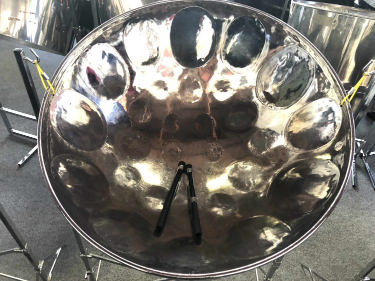 Chrome Lead Tenor Steel Pan