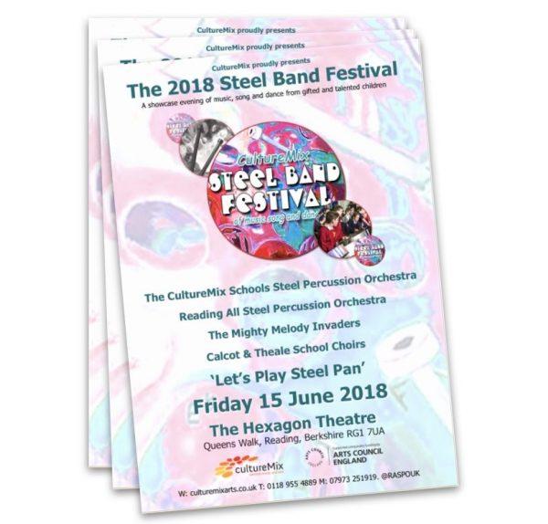 Steel Band Festival Souvenir Programme 2018