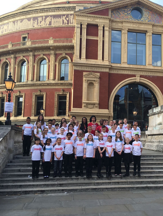 CultureMix at the Royal Albert Hall with the Berkshire Schools Steel Percussion Orchestra 1 May 2016