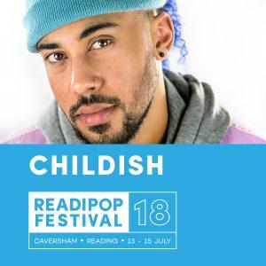Childish Artist Announcement for Readipop Festival 2018