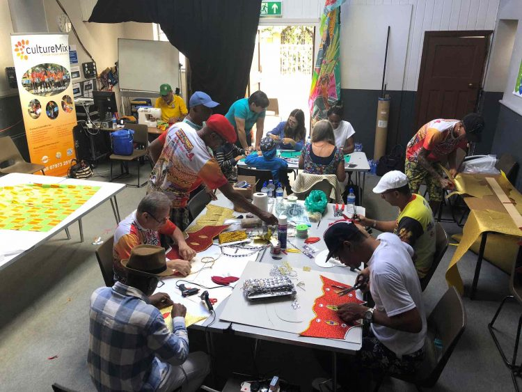 Carnival of the World Open Costume Workshop 1 with Yle De Egba image by CultureMix Arts