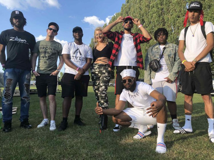 Childish Jaji Hiltz and crew at Readipop Festival 2018