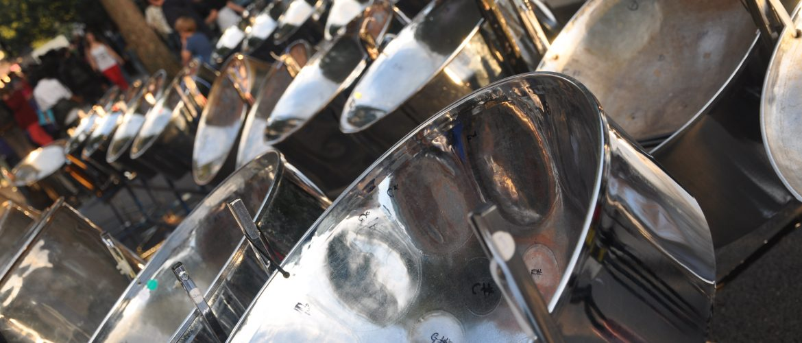 RASPO steel pans by Julia Brazil