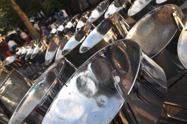Chrome steel pans for RASPO image by Julia Brazil