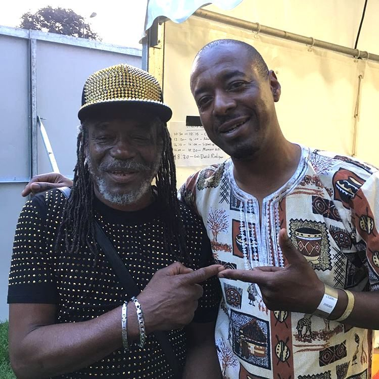 Don Chandler bass player with reggae artist Horace Andy