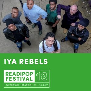 Junior Watson and IYA Rebels Artist Announcement for Readipop Festival 2018