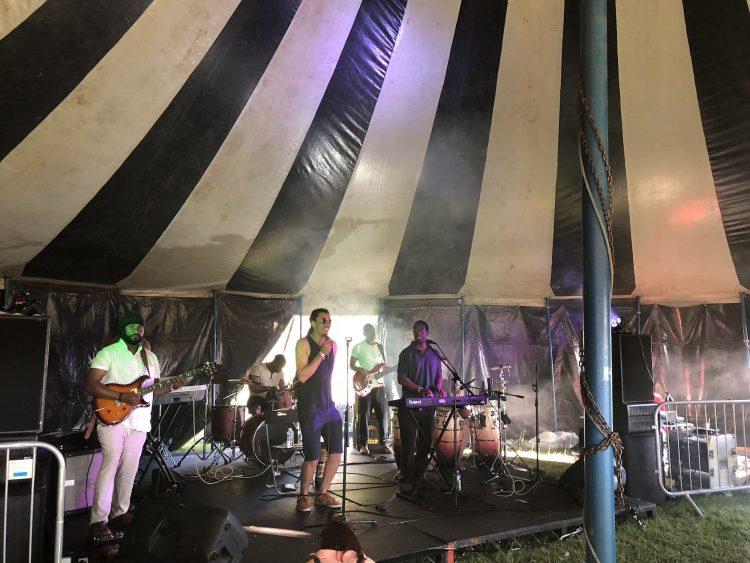 Junior Watson and IYA Rebels at readipop festival 2018