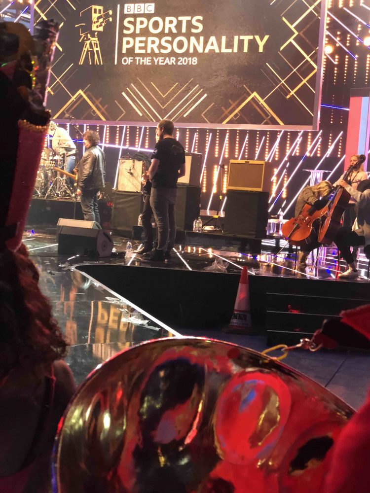 RASPO brings steel pan drums to BBC Sports Personality of the Year 2018