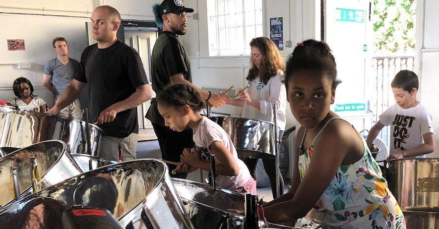 RASPO Bootcamp for Beginners Steel Band Music Workshop