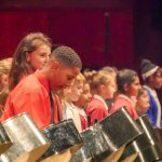 CultureMix Steel Band Festival 2018 Calcot Junior School Steel Band perform with the Schools Orchestra image by Ben Taylor Hewitt