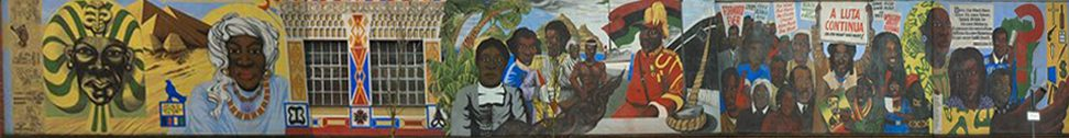 Black History Mural - Central Club Reading