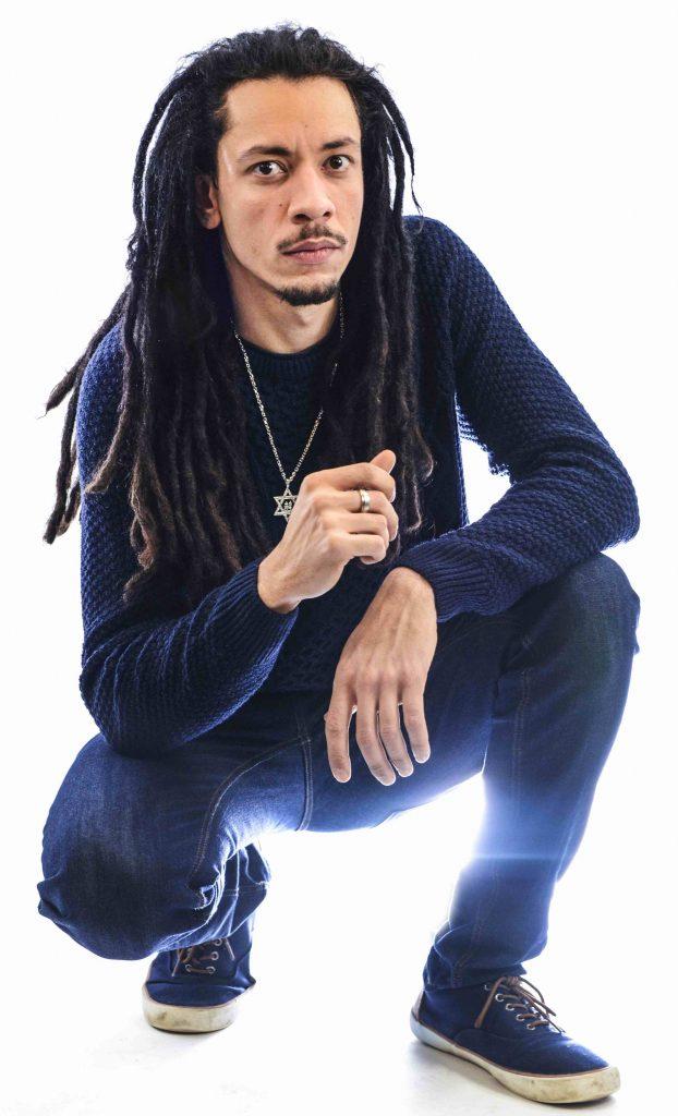 Junior Watson reggae artist image by Robert Varga