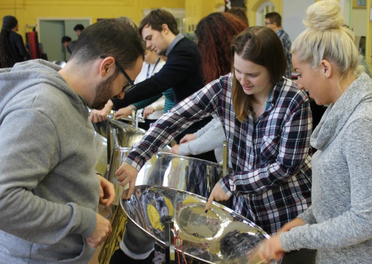 Team Building Steel Band music workshop with CultureMix Arts Ltd