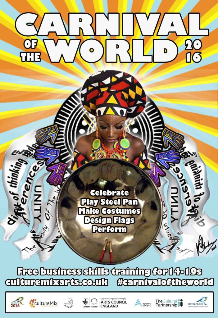 CultureMix Carnival of the World show poster