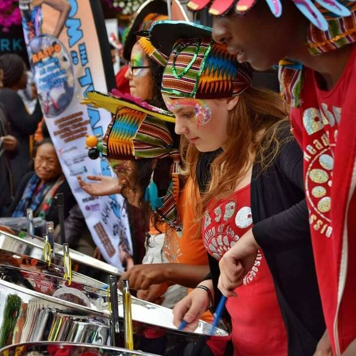 RASPO Steel Orchestra perform at CultureMix Carnival of the World 2016