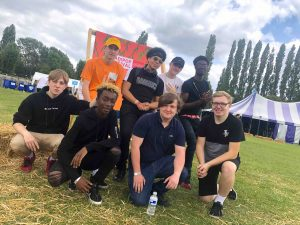 NDotWavez District and Josh Winners of the CultureMix Battle of the Bands at Readipop Festival 2019