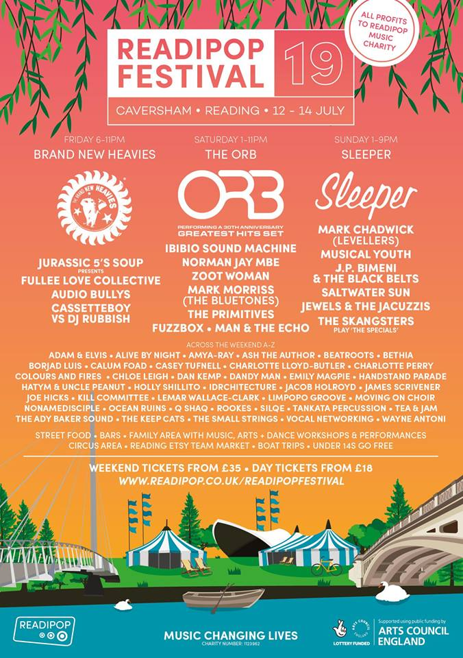 Readipop Festival Flyer 2019