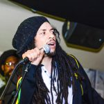 Reggae artist Jnr Watson performs Soothe My Soul for The CultureMix Peace and Love Concertl at The Purple Turtle Bar Reading May 2019 image by Robert Varga Peterson