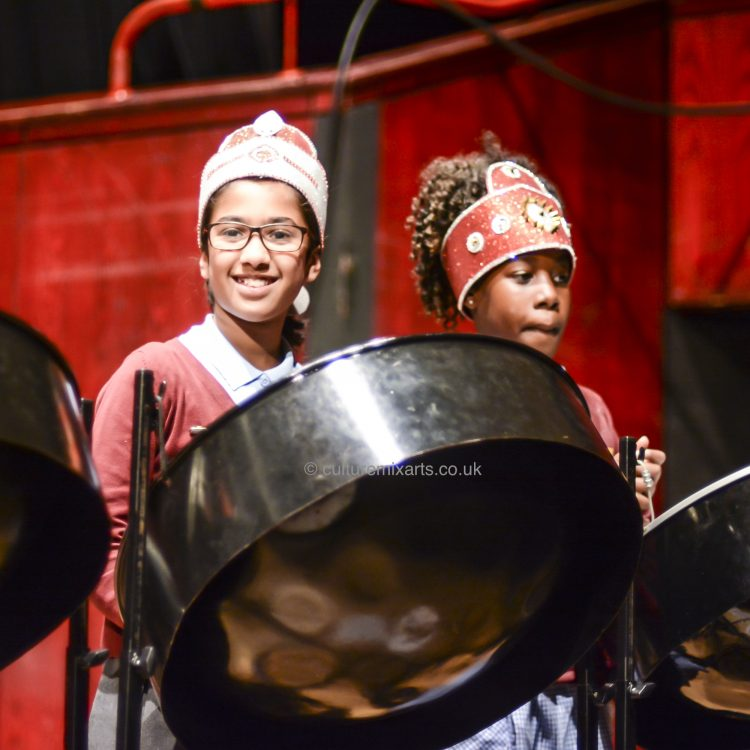 The CultureMix Steel Band Festival at The Hexagon Theatre 2019 - image by Robert Varga Peterson
