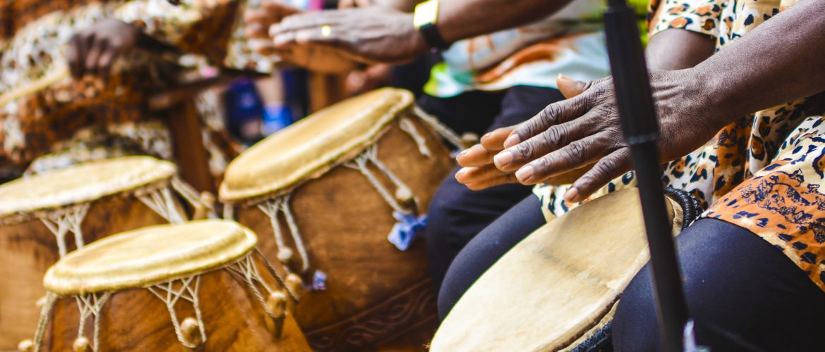CultureMix Carnival of the World - Osegyefo Ghanaian drummers Reading UK image by Robert Varga Peterson