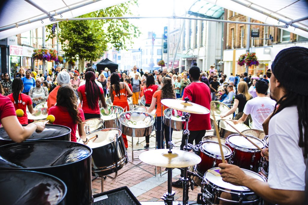 CultureMix Carnival of the World - RASPO Steel Orchestra Reading UK image by Robert Varga Peterson