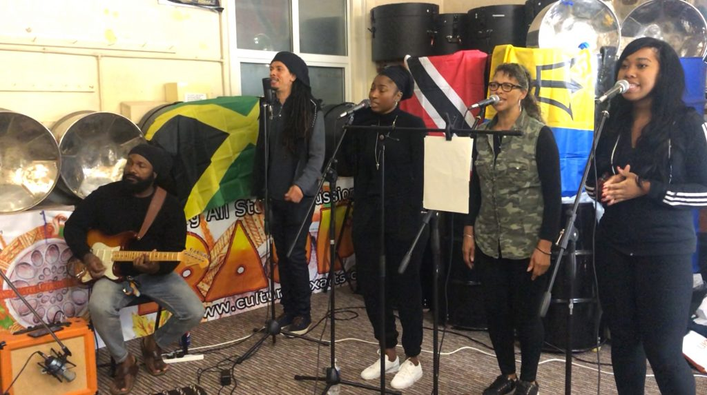 Reading Reggae Collective vocalists 19June2020