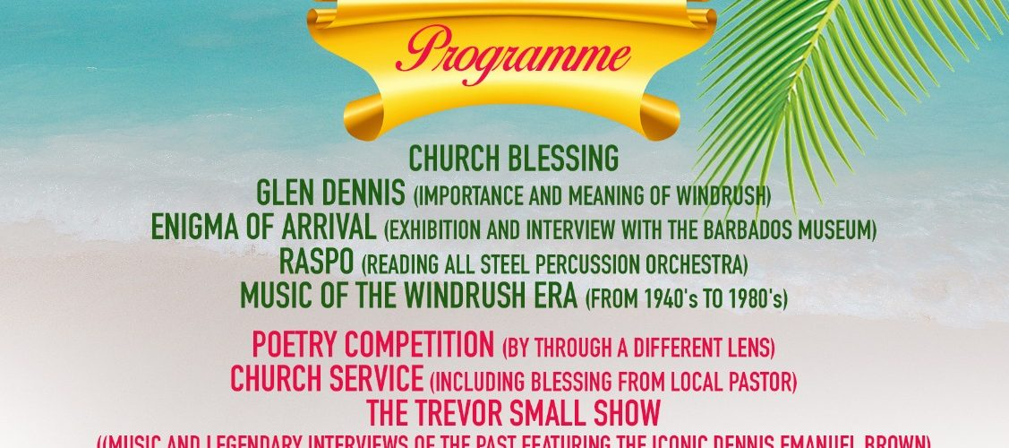 Readings Windrush Day flyer 2020