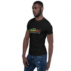Reggae Collective Black Unisex T-shirt