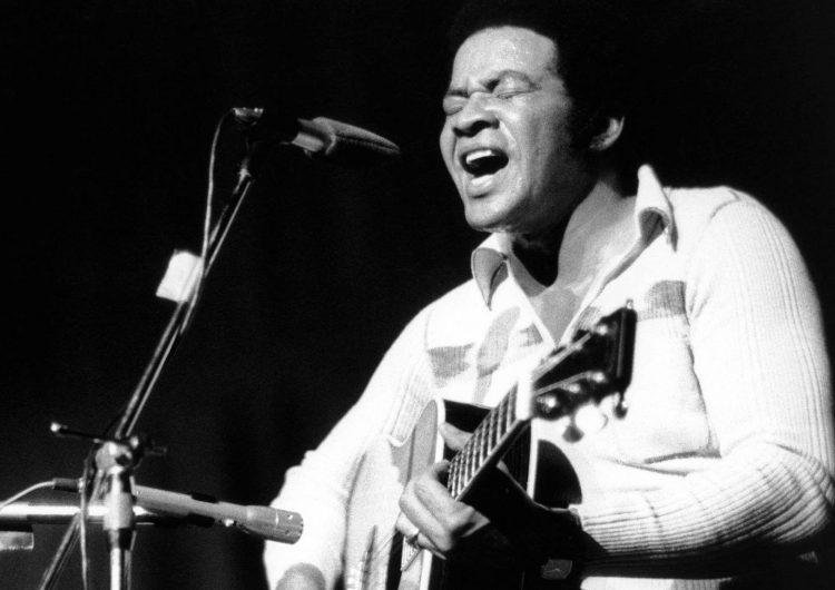 Bill Withers image with guitar