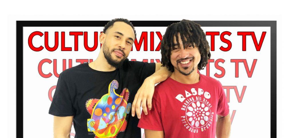 Jamah and Aynsley CultureMix Arts TV wide ID